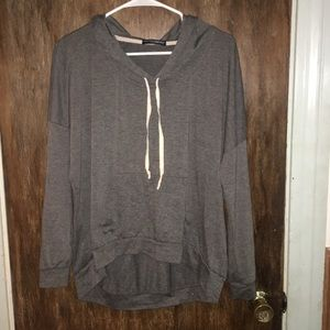 Brandy Melville gray sweatshirt